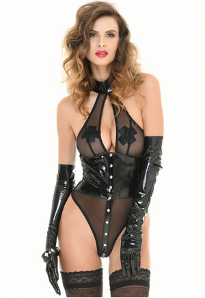 Body Tonia transparent taille vinyl Catanzaro
