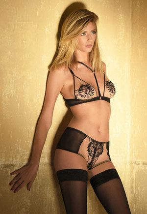 Lingerie Impudique Charlotte Catanzaro * Collection Insoumise