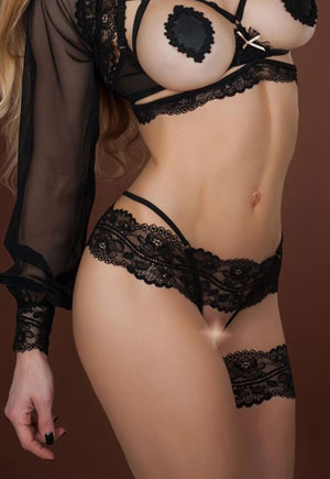 String Nu Reglisse Luxe