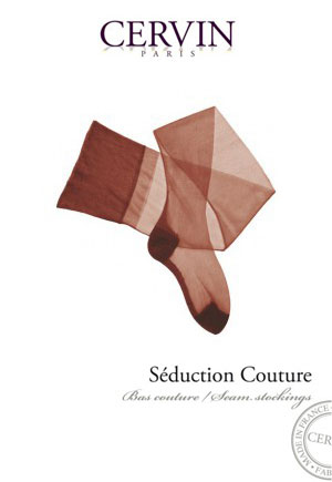 Bas voile Séduction Couture marron CERVIN