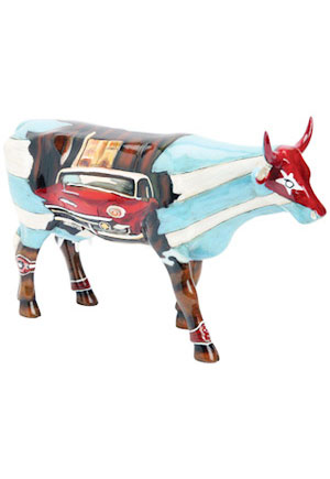 Vache déco Cuban Club Cow Parade