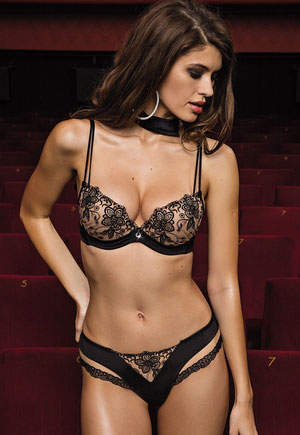 Lingerie Glory Lisca séduction et distinction