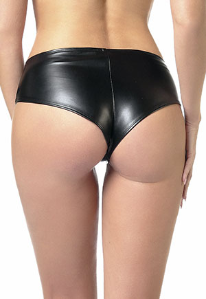Beatrice Shorty effet Cuir texturé Catanzaro