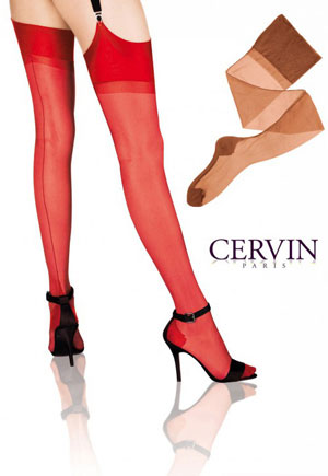 Bas voile Séduction Couture gazelle CERVIN